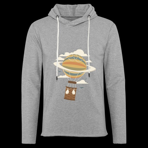 Air Baloon Saturn - Unisex Lightweight Terry Hoodie