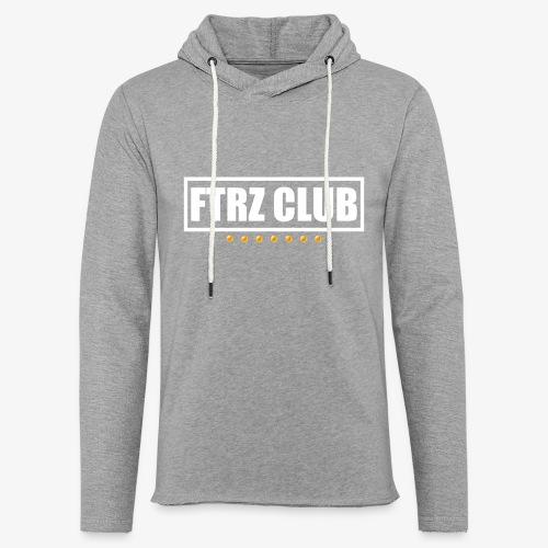 Ftrz Club Box Logo - Unisex Lightweight Terry Hoodie