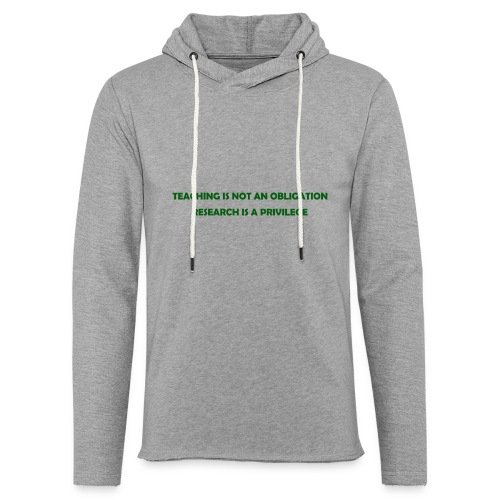 Teaching - Unisex Lightweight Terry Hoodie