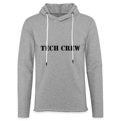Tech Crew - Unisex Lightweight Terry Hoodie