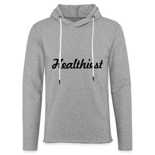 Sick Healthiest Sticker! - Unisex Lightweight Terry Hoodie