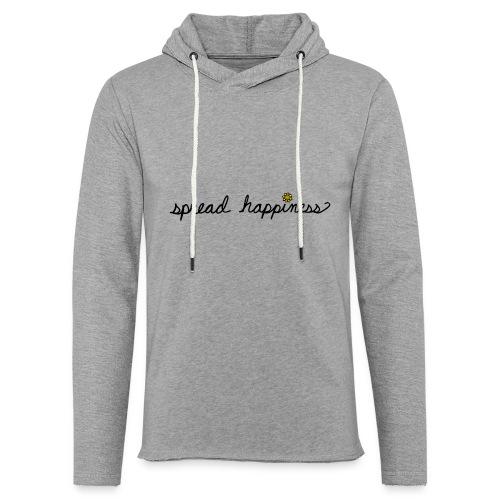 Spread Happiness Women's T-shirt - Unisex Lightweight Terry Hoodie