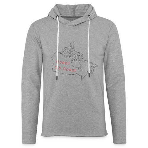 Coast to Coast - Unisex Lightweight Terry Hoodie