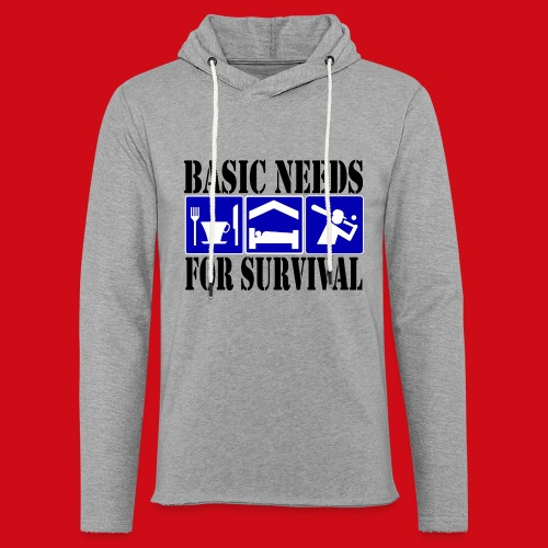 Softball/Baseball Basic Needs - Unisex Lightweight Terry Hoodie