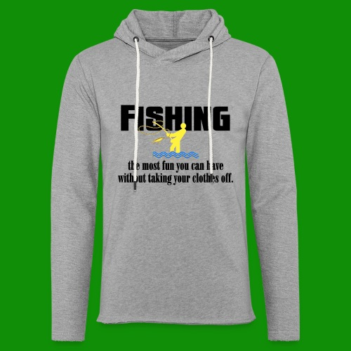 Fishing Fun - Unisex Lightweight Terry Hoodie