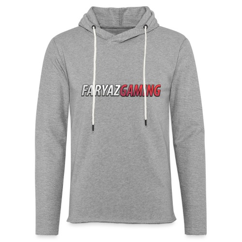 FaryazGaming Text - Unisex Lightweight Terry Hoodie