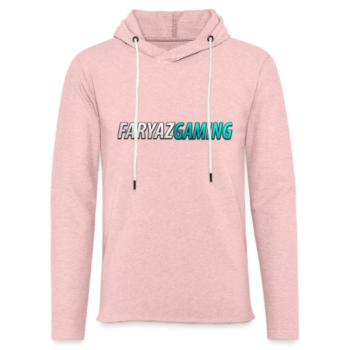 FaryazGaming Theme Text - Unisex Lightweight Terry Hoodie