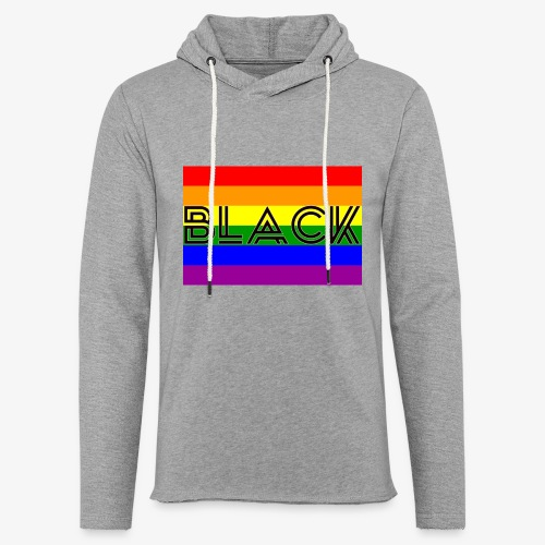 Black LGBTQ - Unisex Lightweight Terry Hoodie