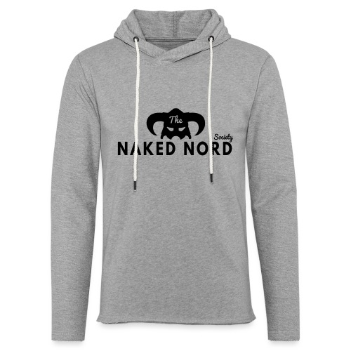 The Naked Nord Society - Unisex Lightweight Terry Hoodie