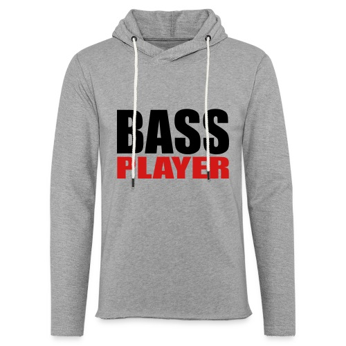 Bass Player - Unisex Lightweight Terry Hoodie