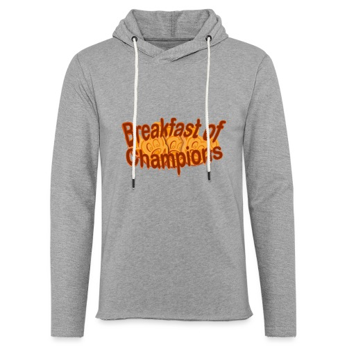Breakfast of Champions - Unisex Lightweight Terry Hoodie