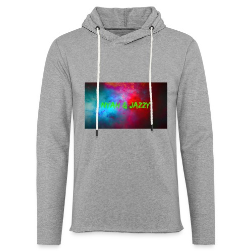 NYAH AND JAZZY - Unisex Lightweight Terry Hoodie