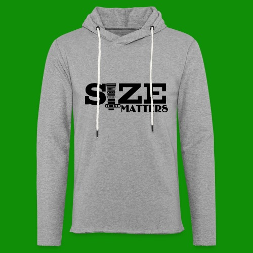 Size Matters Photography - Unisex Lightweight Terry Hoodie