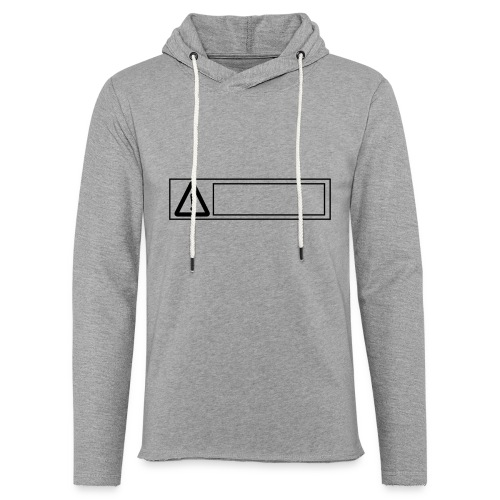 warning sign - Unisex Lightweight Terry Hoodie