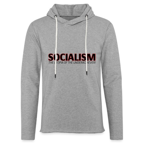 SOCIALISM UTOPIA - Unisex Lightweight Terry Hoodie
