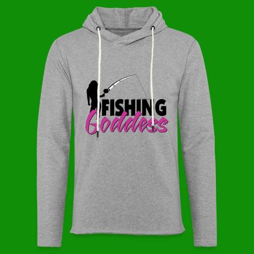 FISHING GODDESS - Unisex Lightweight Terry Hoodie