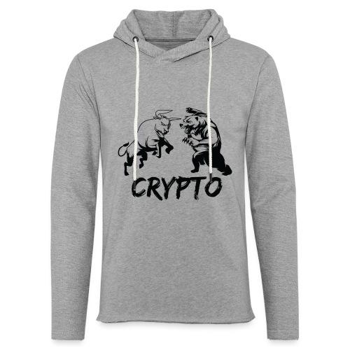 CryptoBattle Black - Unisex Lightweight Terry Hoodie