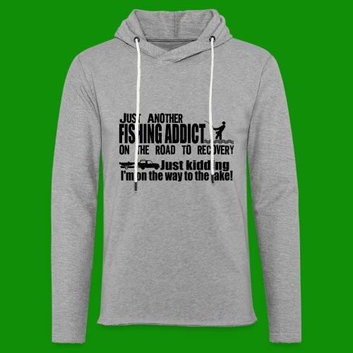 FISHING ADDICT - Unisex Lightweight Terry Hoodie