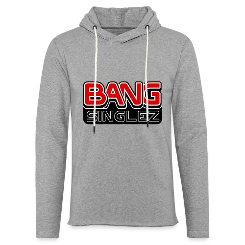 BangSinglez Logo Red - Unisex Lightweight Terry Hoodie