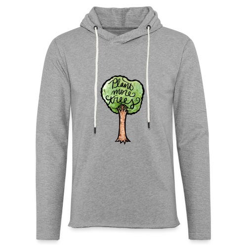 Plant More Trees - Unisex Lightweight Terry Hoodie