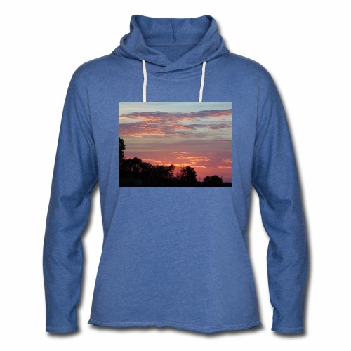 Sunset of Pastels - Unisex Lightweight Terry Hoodie