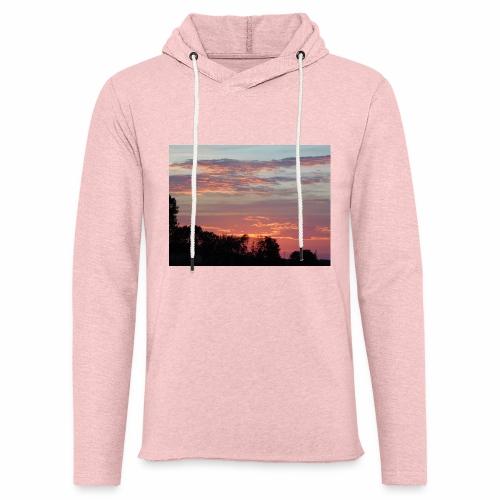 Sunset of Pastels - Unisex Lightweight Terry Hoodie