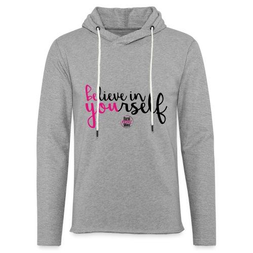 BE YOU shirt design w logo - Unisex Lightweight Terry Hoodie