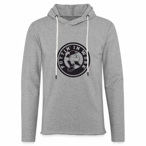 Puttin' In Work Apparel - Unisex Lightweight Terry Hoodie