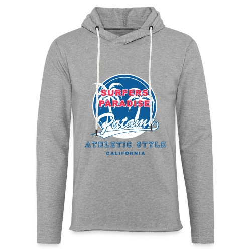 Surfers Paradise Athletic Blue - Unisex Lightweight Terry Hoodie