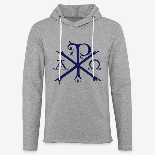 CHI RHO ALPHA OMEGA - Unisex Lightweight Terry Hoodie
