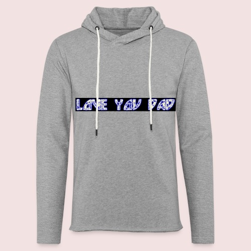 HAPPY FATHER'S DAY - Unisex Lightweight Terry Hoodie