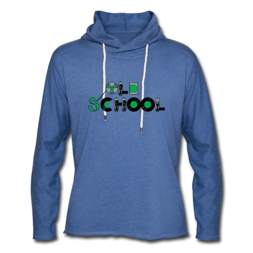 Old School Music - Unisex Lightweight Terry Hoodie