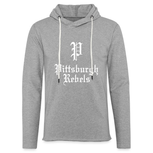 Pittsburgh Rebels - Unisex Lightweight Terry Hoodie