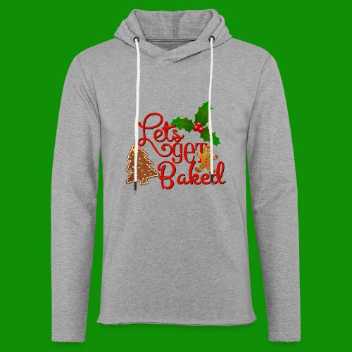 Let's Get Baked - Family Holiday Baking - Unisex Lightweight Terry Hoodie
