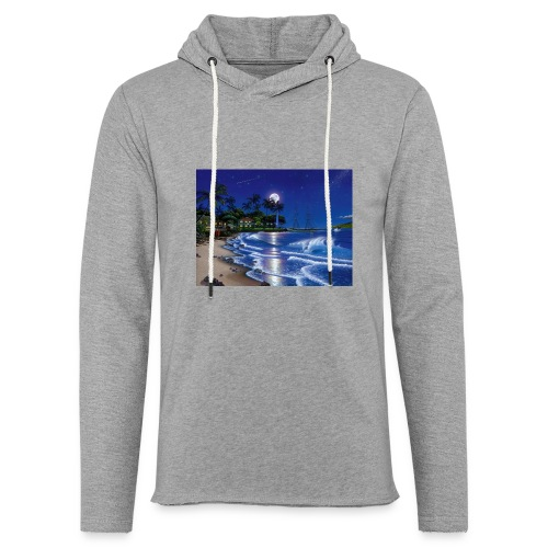 full moon - Unisex Lightweight Terry Hoodie