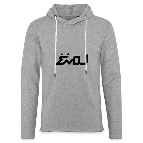 evol logo - Unisex Lightweight Terry Hoodie