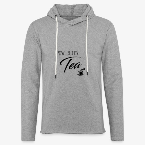 Powered by Tea - Unisex Lightweight Terry Hoodie