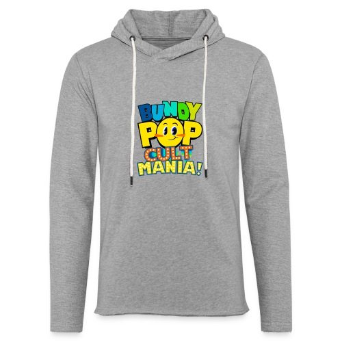 Bundy Pop Main Design - Unisex Lightweight Terry Hoodie