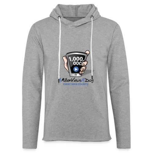 AMillionViewsADay - every view counts! - Unisex Lightweight Terry Hoodie