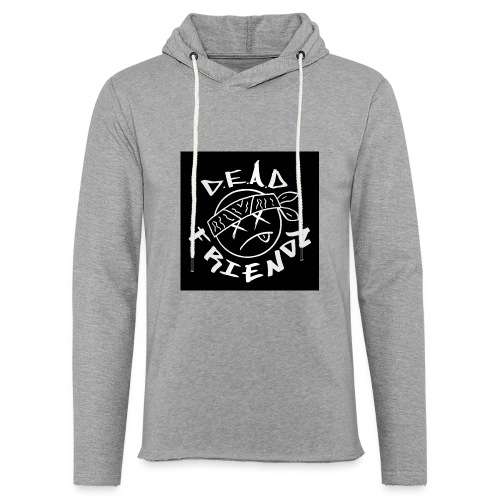 D.E.A.D FRIENDZ Records - Unisex Lightweight Terry Hoodie