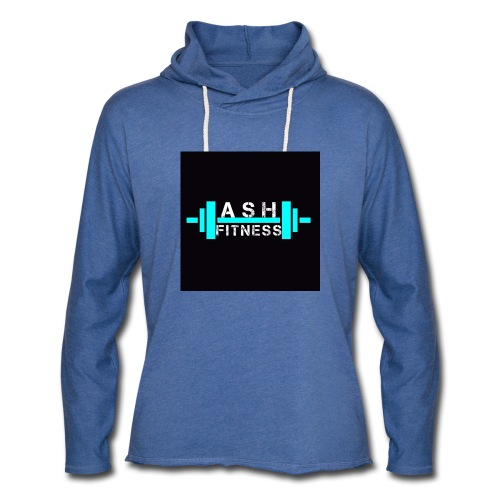 ASH FITNESS ACCESSORIES - Unisex Lightweight Terry Hoodie