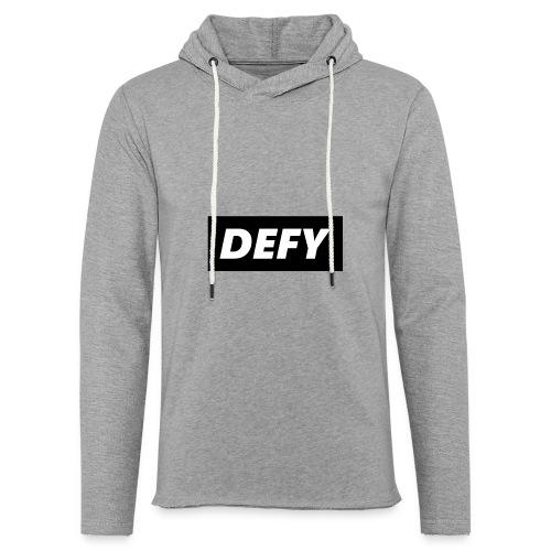 defy logo - Unisex Lightweight Terry Hoodie