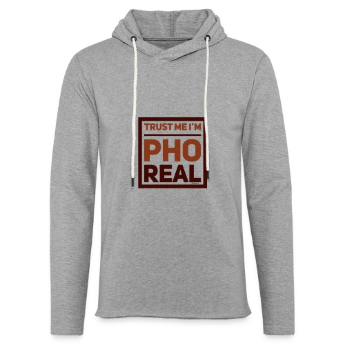trust me i'm Pho Real - Unisex Lightweight Terry Hoodie