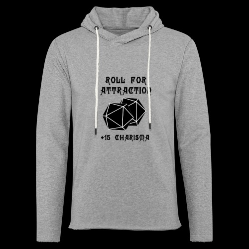 Roll for Attraction - Unisex Lightweight Terry Hoodie