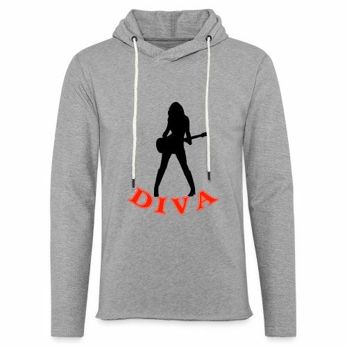Rock Star Diva - Unisex Lightweight Terry Hoodie
