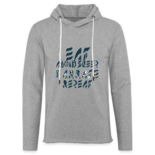 Eat Sleep Narrate Repeat - Unisex Lightweight Terry Hoodie