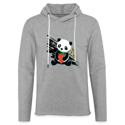 Cute Kawaii Panda T-shirt by Banzai Chicks - Unisex Lightweight Terry Hoodie