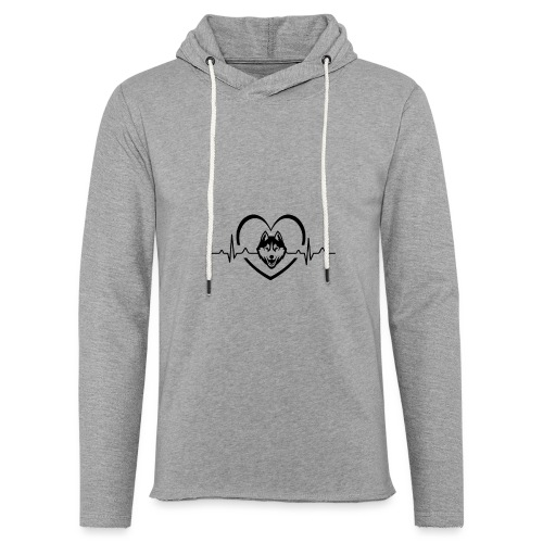 Love every beat for Husky T-Shirt - Unisex Lightweight Terry Hoodie