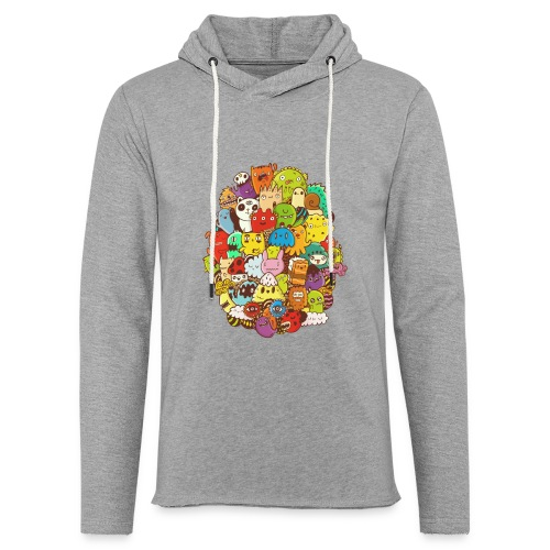 Doodle for a poodle - Unisex Lightweight Terry Hoodie