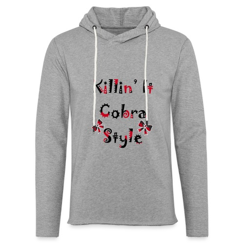 Killin' It Cobra - Unisex Lightweight Terry Hoodie